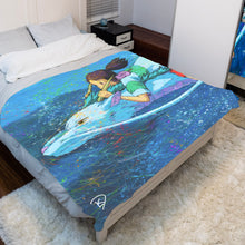 Load image into Gallery viewer, Spirited Away Sherpa Blanket