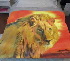 Lion King Blanket Sherpa Blanket