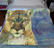 Load image into Gallery viewer, Penn State Decor Sherpa Blanket Nittany Lion Blanket