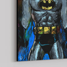"Load image into Gallery viewer, Batman Animated Series Canvas Print ""I Am The Night"""