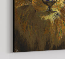 Load image into Gallery viewer, Lion Canvas Print Lion Wall Art