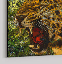 Load image into Gallery viewer, Jaguar Canvas Print Jungle Wall Art