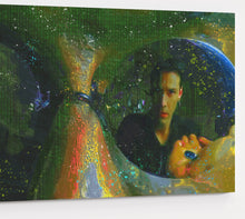 Load image into Gallery viewer, The Matrix Morpheus Canvas Print