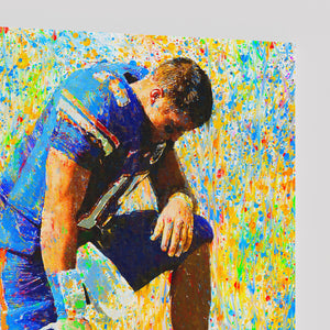 Tim Tebow Canvas Print - ALL Proceeds Donated to Tim Tebow Foundation
