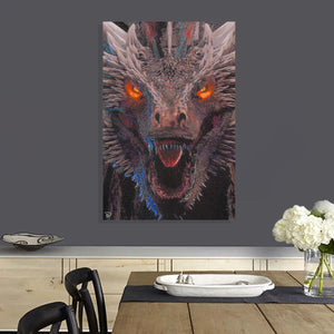 Dragon Canvas Print Game of Thrones Decor