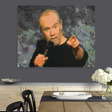 Load image into Gallery viewer, George Carlin Canvas Print