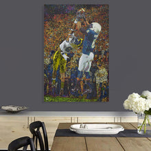 Load image into Gallery viewer, Allen Robinson Canvas Print Penn State Wall Art