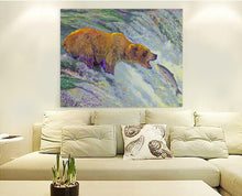 Load image into Gallery viewer, Grizzly Bear Canvas Print