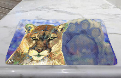 PSU Lion Dish Towel Penn State Decor Nittany Lion Towel