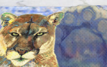 Load image into Gallery viewer, PSU Lion Dish Towel Penn State Decor Nittany Lion Towel