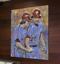 Load image into Gallery viewer, Philadelphia Phillies Canvas Print Man Cave Art