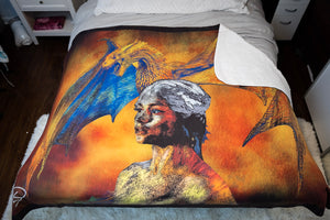 Dragon Decor Game of Thrones Blanket Dragon Blanket Game of Thrones Gift