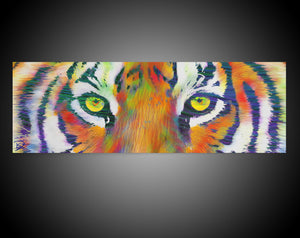 Tiger Eye Canvas Tiger Wall Art
