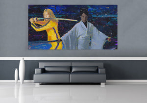 Kill Bill Canvas Print
