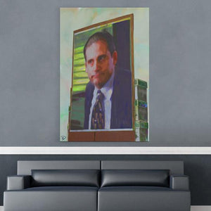 Michael Scott Print Poster Art