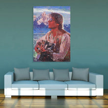 "Load image into Gallery viewer, John Denver Canvas Print ""Rocky Mountain High"""