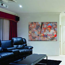 Load image into Gallery viewer, Chase Utley Canvas Print Man Cave Decor