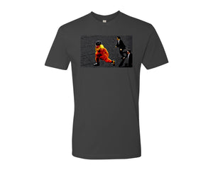 Streaking Gritty Unisex T-Shirt Hockey Gift