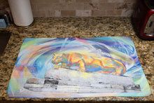 Load image into Gallery viewer, Nittany Lion Dish Towel PSU Graduation Gift Kitchen Towel Penn State Kitchen Tea Towel