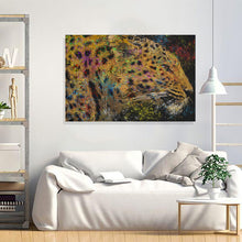 Load image into Gallery viewer, Leopard Canvas Print Leopard Print Wall Art