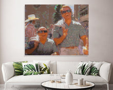 Load image into Gallery viewer, Twins Movie Canvas Print Danny Devito Arnold Schwarzenegger
