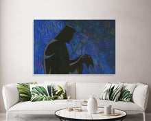 Load image into Gallery viewer, Batman Animated Series Canvas Print Batman Wall Art