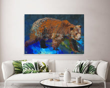 Load image into Gallery viewer, Constellation Canvas Print Ursa Major Wall Art
