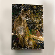 Load image into Gallery viewer, Mountain Lion Aluminum Print
