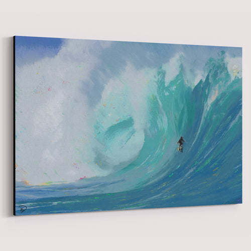 Surfboard Wall Art Canvas Print Surf Decor