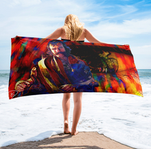 Load image into Gallery viewer, Bill The Butcher Beach Towel Gangs of New York