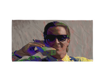Load image into Gallery viewer, American Psycho Beach Towel