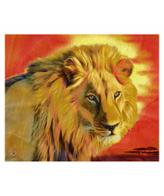 Load image into Gallery viewer, Lion King Blanket Sherpa Blanket