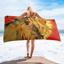 Load image into Gallery viewer, Lion King Beach Towel