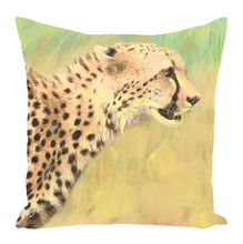 Load image into Gallery viewer, Cheetah Throw Pillow Fall Pillows