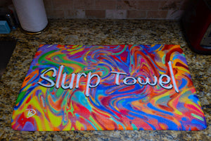 Slurp Towel Dish Towels Kitchen Towel Kitchen Decor Dishcloth