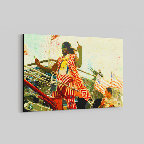 Idiocracy Canvas Print