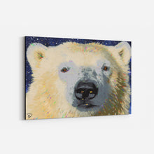Load image into Gallery viewer, Polar Bear Canvas Print