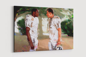 Remember The Titans Canvas Print