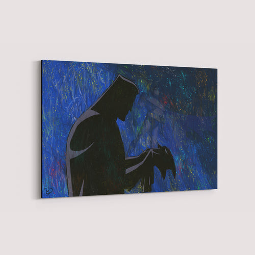 Batman Animated Series Canvas Print Batman Wall Art