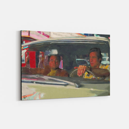 Once Upon A Time In Hollywood Canvas Print