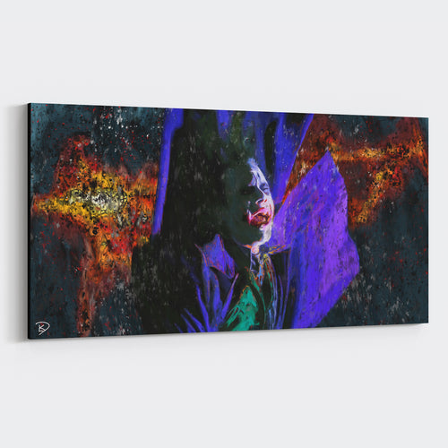 The Joker Canvas Print Joker Art
