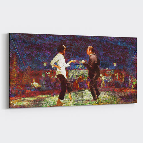 Pulp Fiction Canvas Print Jack Rabbit Slims