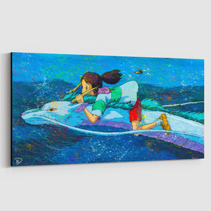 Spirited Away Canvas Print