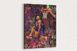 Vince Carter Canvas Print Man Cave Decor