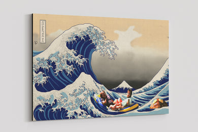 Great Wave Rum Ham Canvas Print Always Sunny