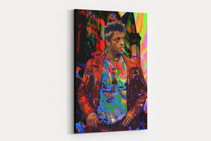 Tyler Durden Canvas Print Fight Club