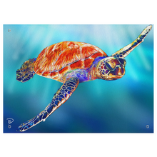 Load image into Gallery viewer, Sea Turtle Tapestry