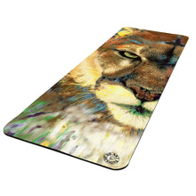 Load image into Gallery viewer, Mountain Lion Yoga Mat Exercise Mat