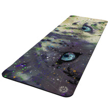 Load image into Gallery viewer, Snow Leopard Yoga Mat Exercise Mat