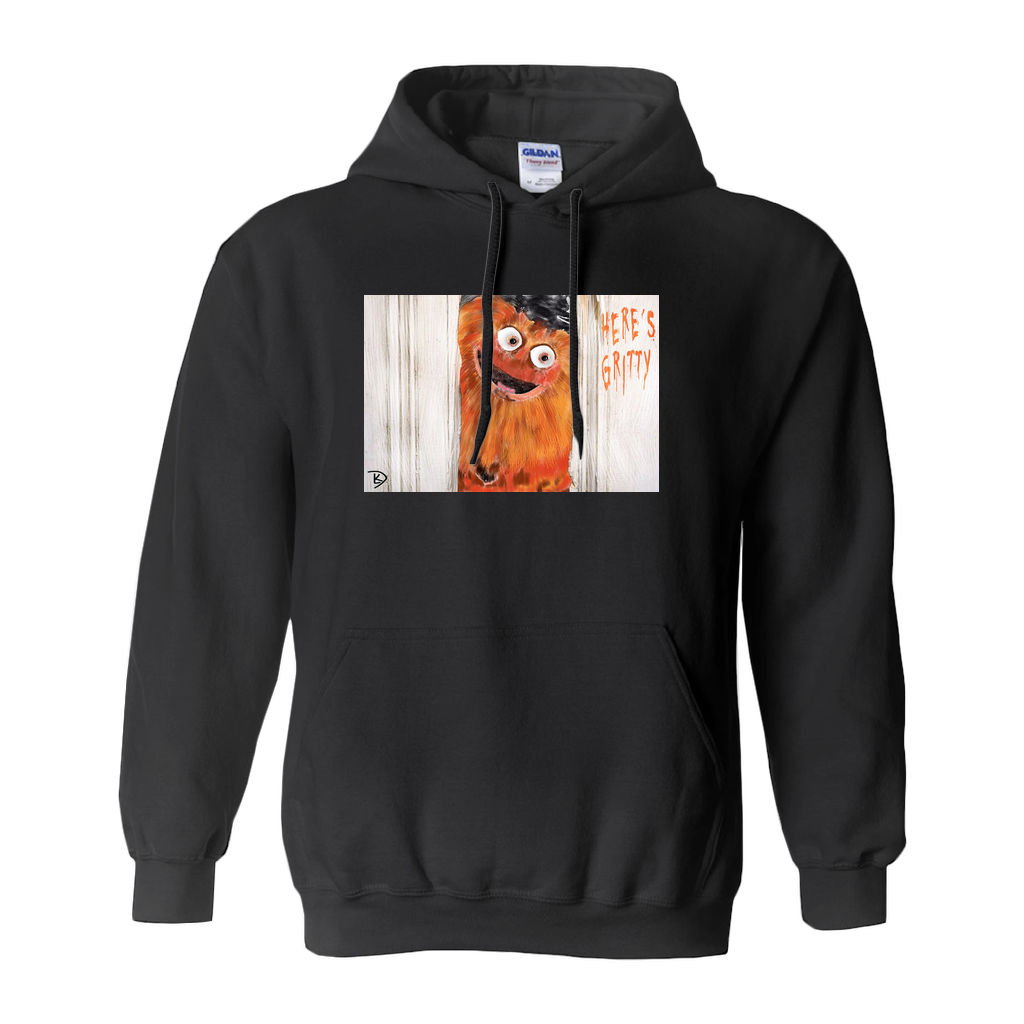 Gritty Hoodie Sweatshirt Flyers Philadelphia Hooded Sweatshirt